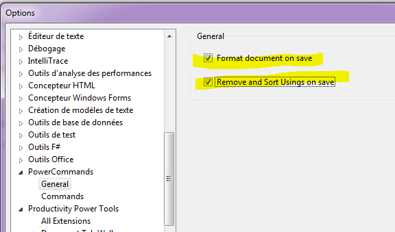 formater le document automatiquement